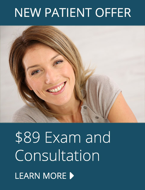 $89 New Patient Exam & Consultation offer
