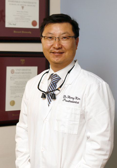 Prosthodontist Henry Kim, DMD MMSc